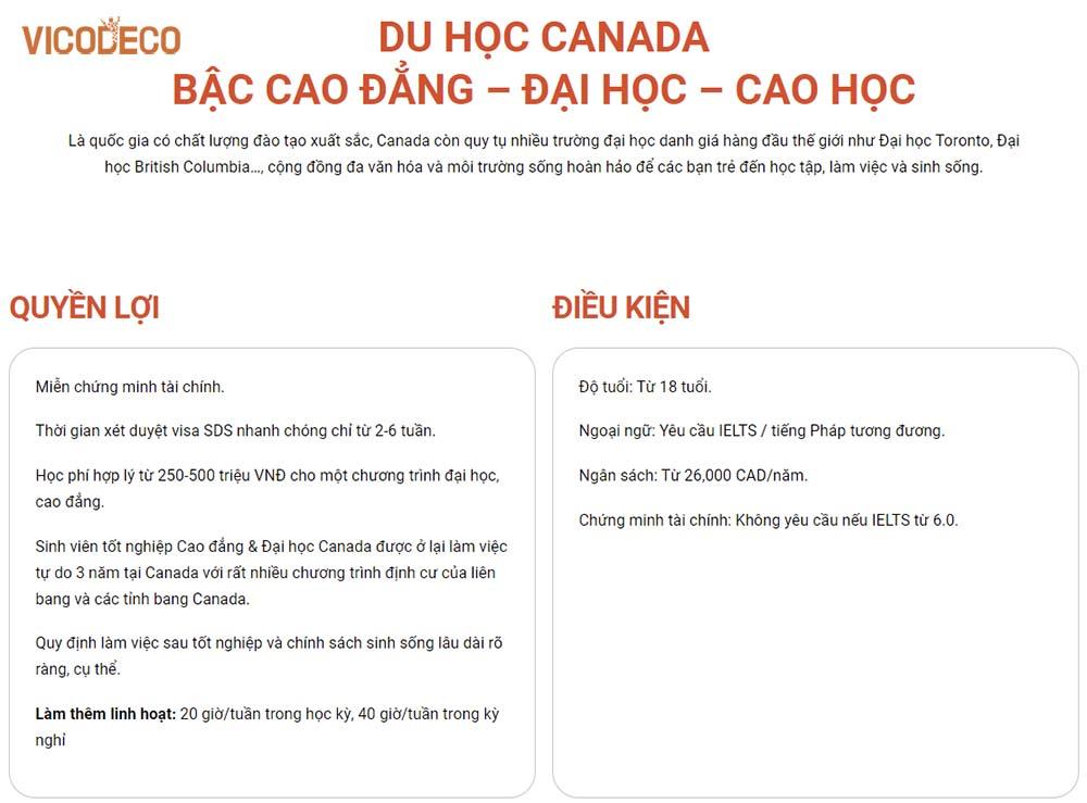 bang-yeu-cau-cho-du-hoc-sinh-canada